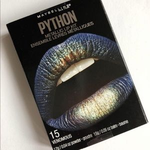 Maybelline Lip Kit Python Metallic (Venomous)